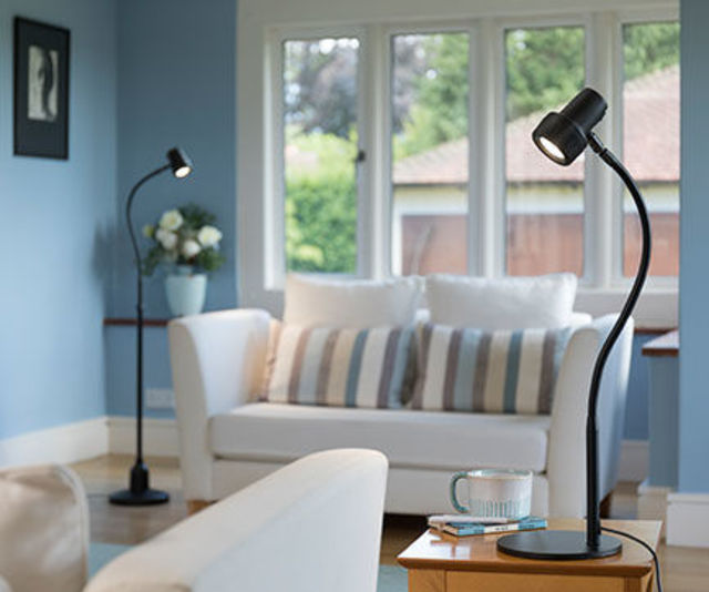 Classic Floor and Table Reading Lights - A Focused reading light