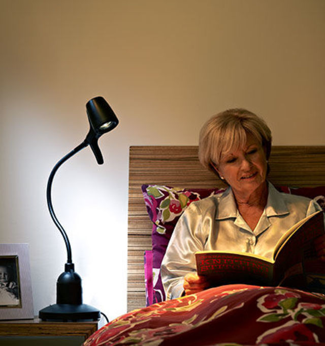 High Definition Table Bedside Reading Lights - Couple Reading